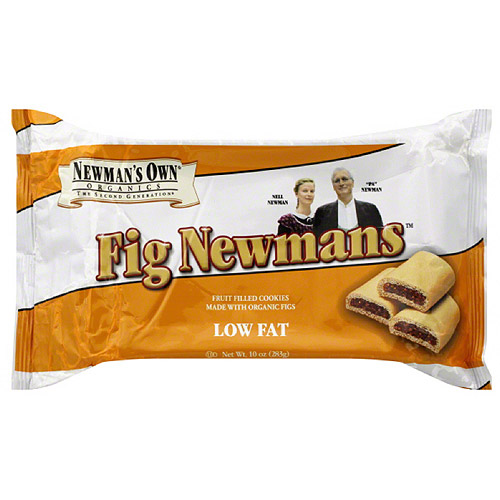 Newman's Own Organics Fig Newmans Low Fat Cookies, 10 oz (Pack of 6)