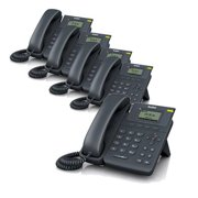 Yealink SIP-T19P VoIP phone PoE 10/100 LCD Without Power Supply (5-Pack)