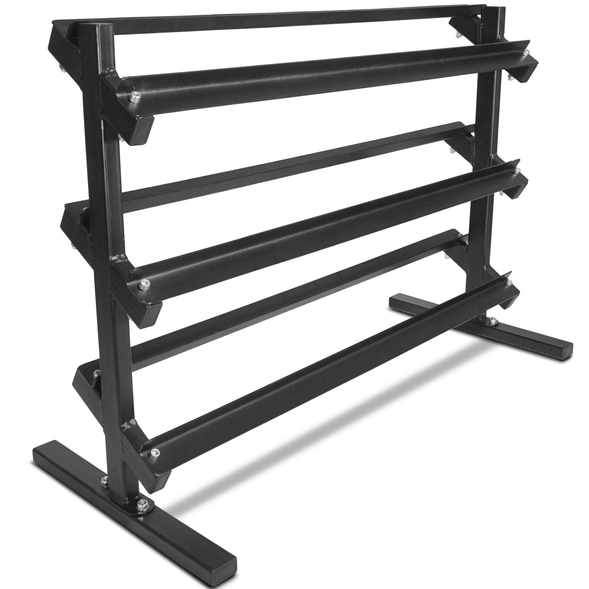 Titan Fitness 3 Tier Dumbbell Rack HD Stand for Workout Weights - Factory Defect