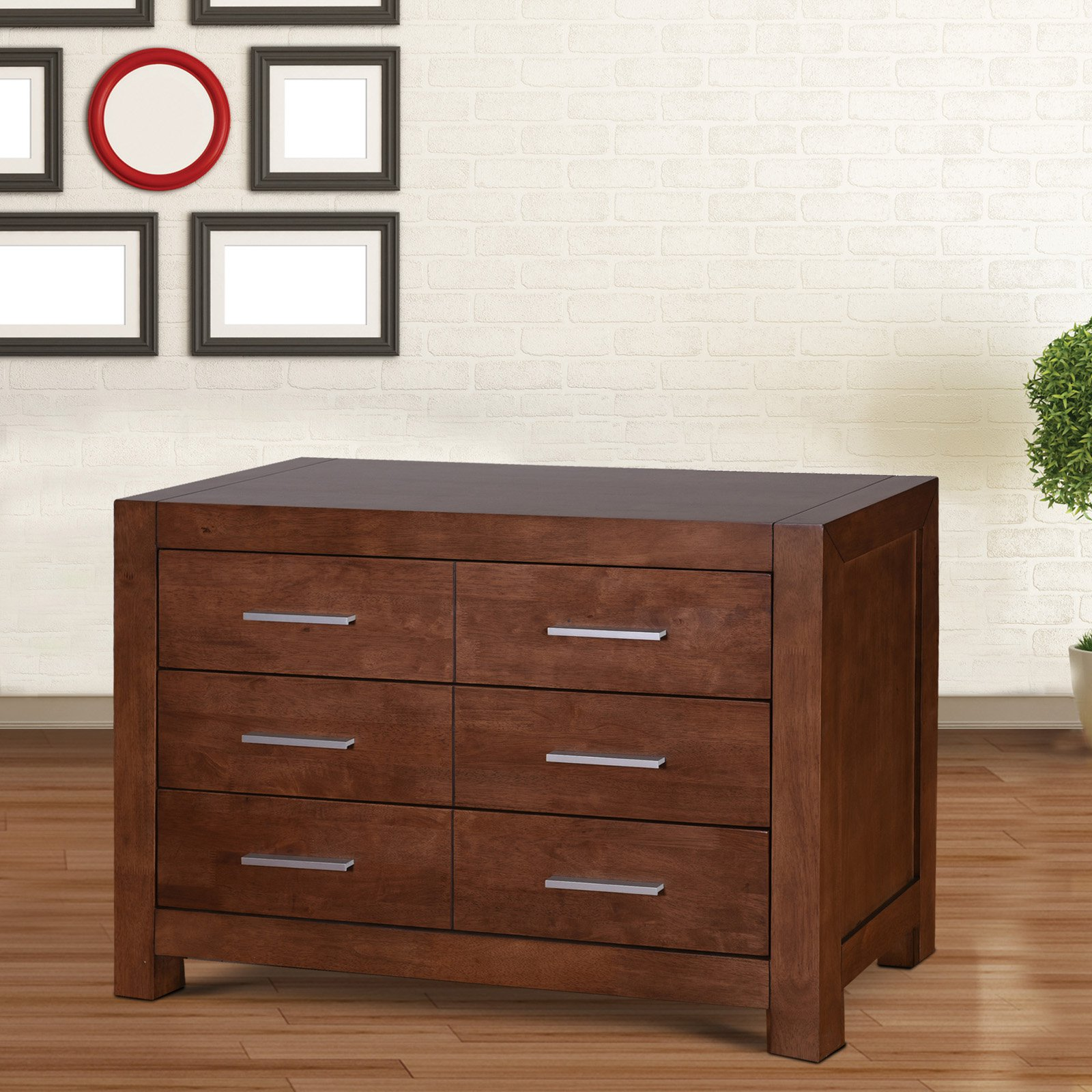 Midtown Concept Omaha 6-Drawer Dresser