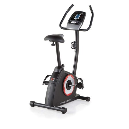 ProForm 135 CSX Upright Exercise Bike with EKG Grip Pulse