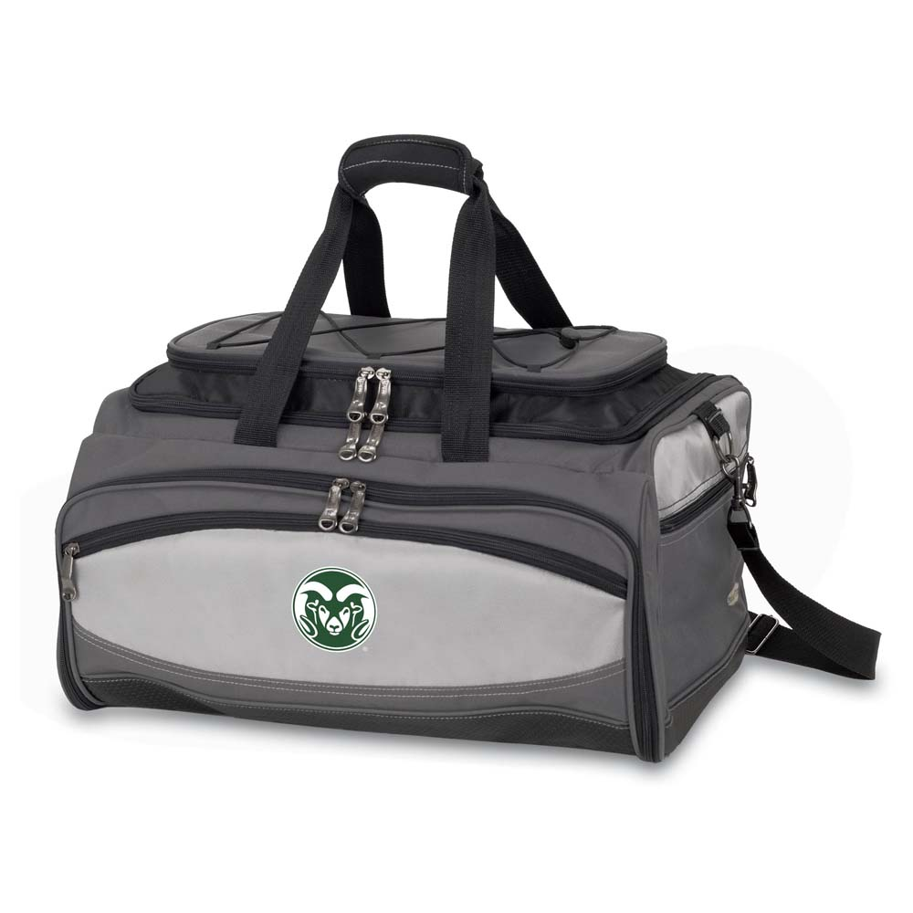 Colorado State Buccaneer Tailgating Embroidered Cooler (Black)