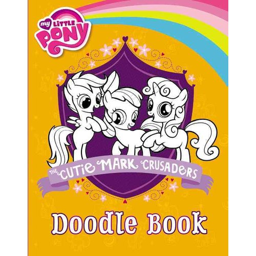 The Cutie Mark Crusaders Doodle Book