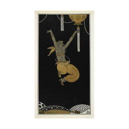 Designs On the Dances Of Vaslav Nijinsky Print Wall Art By Georges Barbier