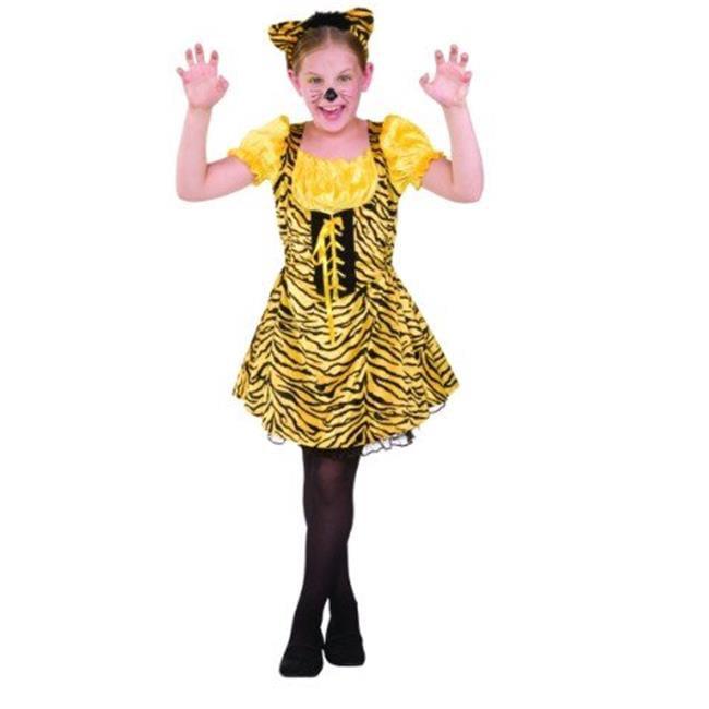 91383-L Sassy Tiger Child Costume Size Large by SupriseItsMe