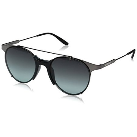f3d025497 Carrera - Carrera Men's Ca128s Round Sunglasses, Dark Ruthenium/Gray Green,  52 mm - Walmart.com