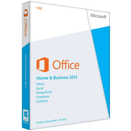 Microsoft Office Home & Business 2013 - 1 PC Promo Code