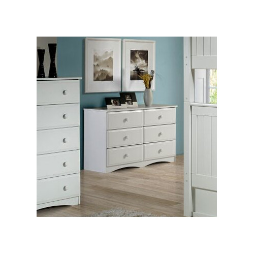 Camaflexi Essentials 6 Drawer Double Dresser by Camaflexi