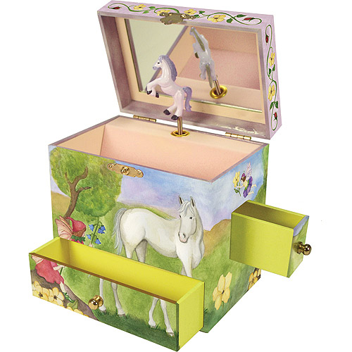 Enchantmints Horse Fairy Musical Treasure Box