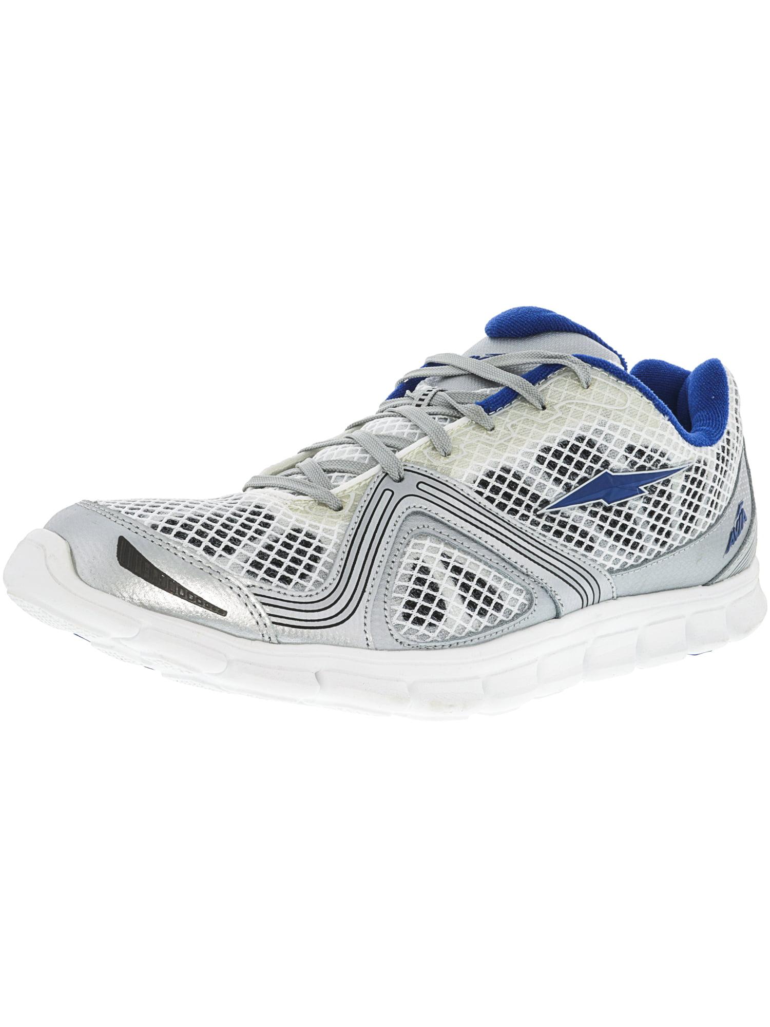 Avia Men's A1516Mwvd White   Dark Grey Navy Ankle-High Running Shoe 13M by Avia