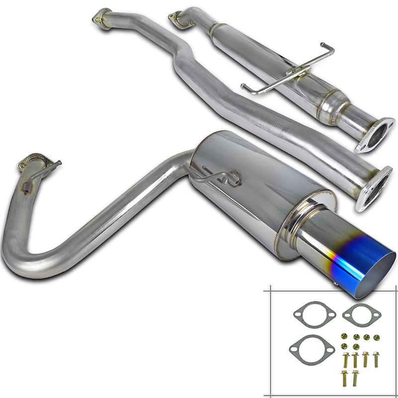 "Spec-D Tuning Jdm 2005-2010 Scion Tc 2.5"" Inlet Ss Catback Exhaust System 05 06 07 08 09 10"