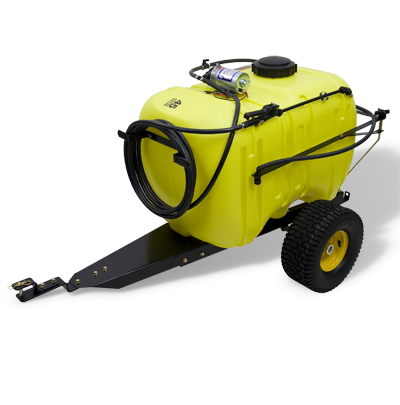 John Deere 45 Gallon Tow Behind Sprayer by