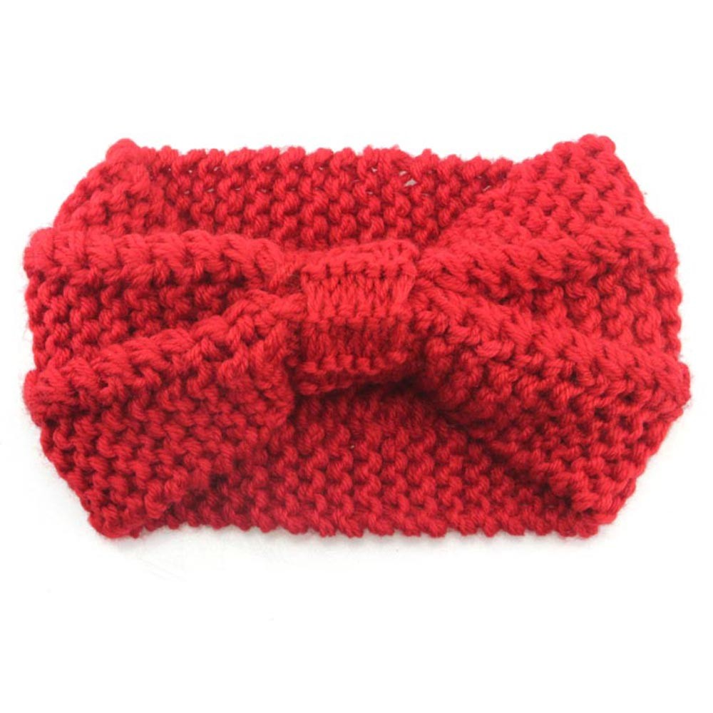 Women Winter Knit Headband Crochet Warmer Hairband Hair Band Headwrap