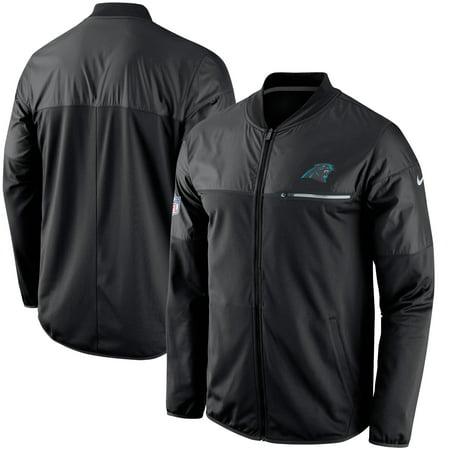 Carolina Panthers Nike Elite Hybrid Performance Jacket - Black Nike Hockey Jacket