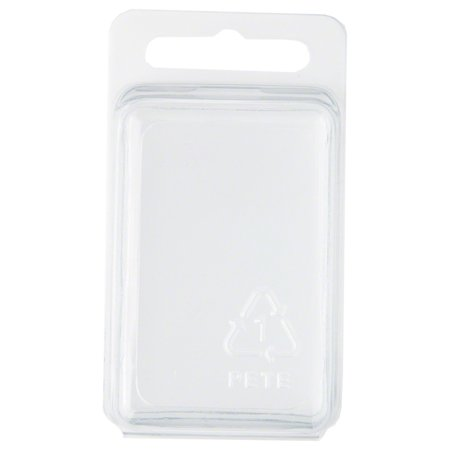 - Clear Plastic Clamshell Package / Storage Container, 2.31