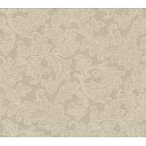 Waverly Classics Merletto Wallpaper, Linen/Taupe