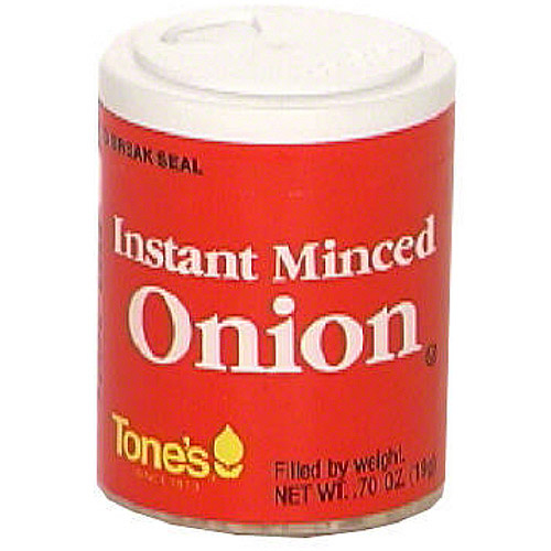 Tones Minced Onion, .70 oz (Pack of 6)