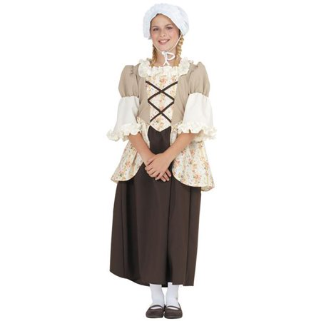 Large Child Colonial Bella Custume](Best Custumes)
