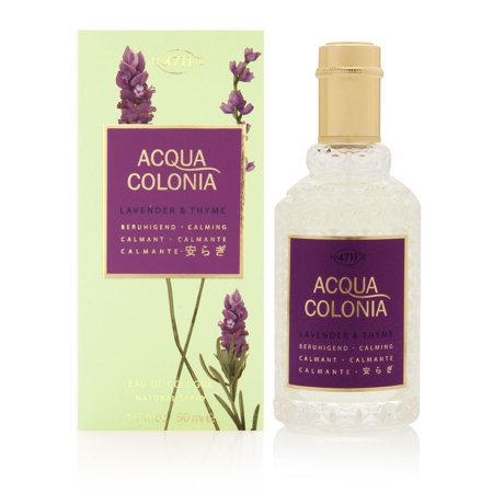 4711 Acqua Colonia Lavender & Thyme by Maurer & Wirtz 1.7 oz Eau de Cologne Spray