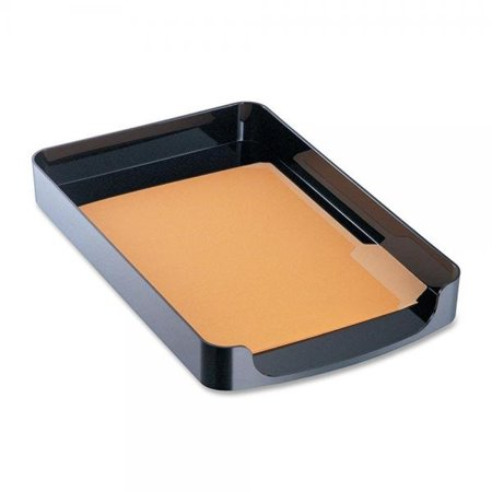 Officemate 2200 Series Executive Letter Tray, Front Load, Black (Executive Letter Tray)