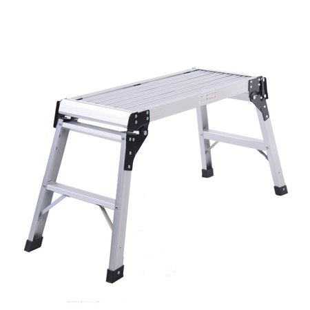 New Hd En131 Aluminum Platform Drywall Step Up Folding