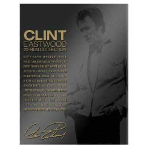 Clint Eastwood: 20-Film Collection (Blu-ray + Book)