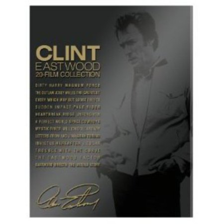 Clint Eastwood  20 Film Collection  Blu Ray   Book