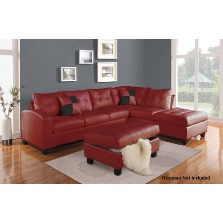 51185 Kiva Reversible Sectional With Left Facing Sofa