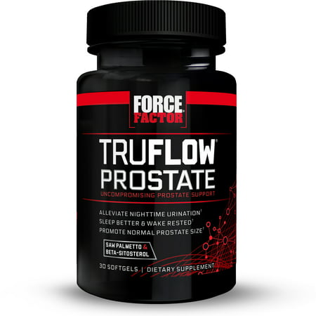 Force Factor TruFlow Prostate Support Softgels, 30