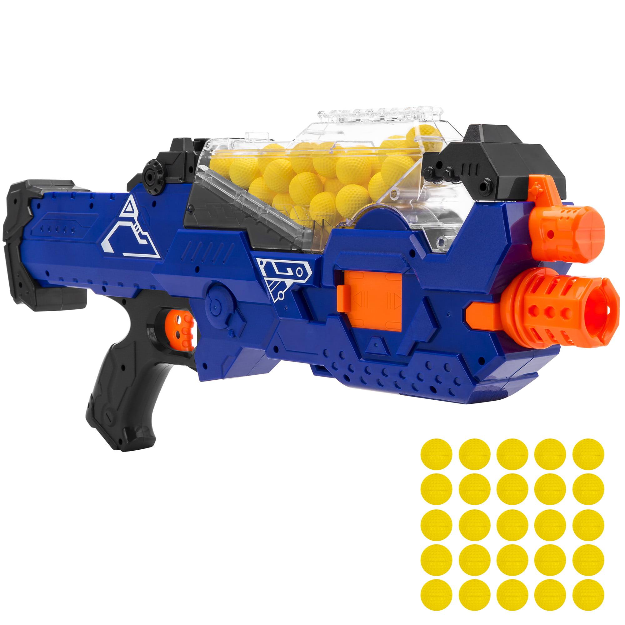 LEGO LOT OF 8 DARK BLUISH GREY SHOOTING CANNON PIECES BLASTERS SPRING GUNS