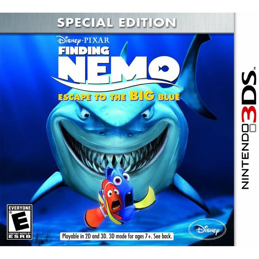 Finding Nemo Escape Big Blue (Nintendo 3DS) - Pre-Owned