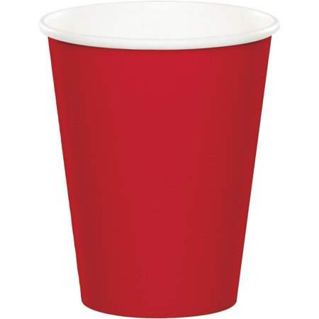 Coed Party (Club Pack of 240 Classic Red Disposable Paper Hot and Cold Party Tumbler Cups 9)