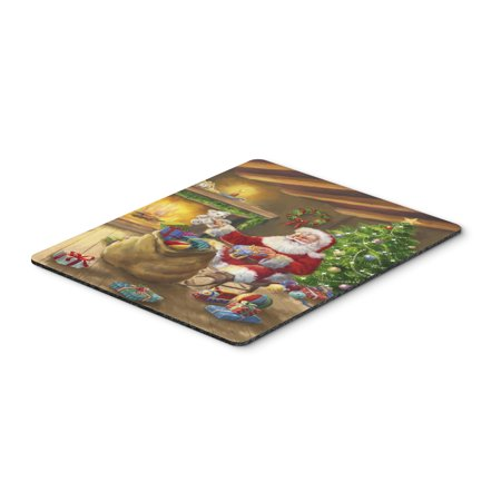 Christmas Santa Claus Unloading Toys Mouse Pad, Hot Pad or Trivet APH5793
