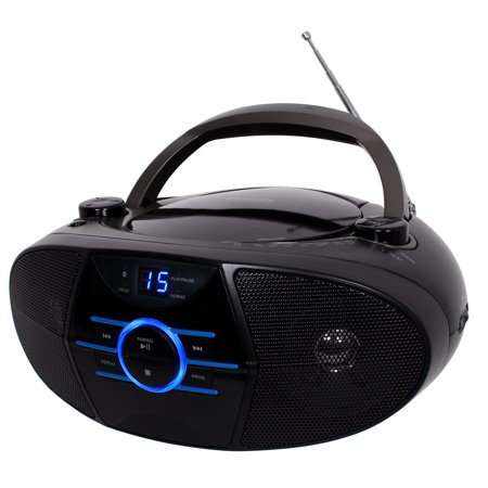 Jensen Cd 560 Portable Stereo Cd Player With Am Fm Stereo Radio And Bluetooth