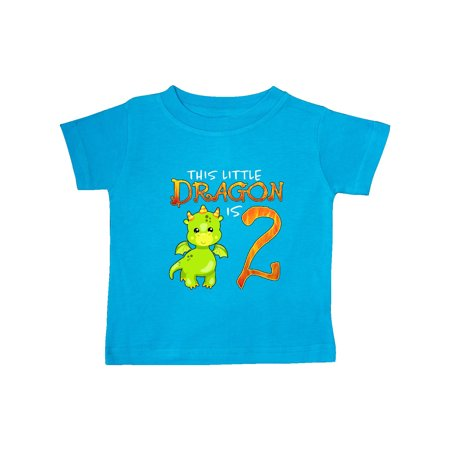 Dragon 2nd Birthday- turning two Baby T-Shirt