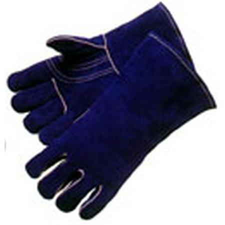 Blue Welder Gloves by the (Best Welder Gloves With Gunn Patterns)