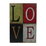 Cheungs 'Love' Print on Wood