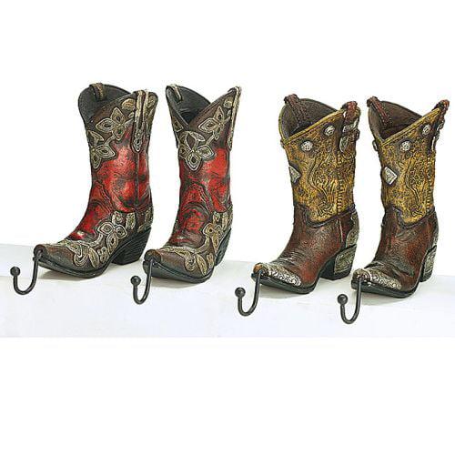 Burton Cowboy Boots Stocking Holder, 2 Pairs