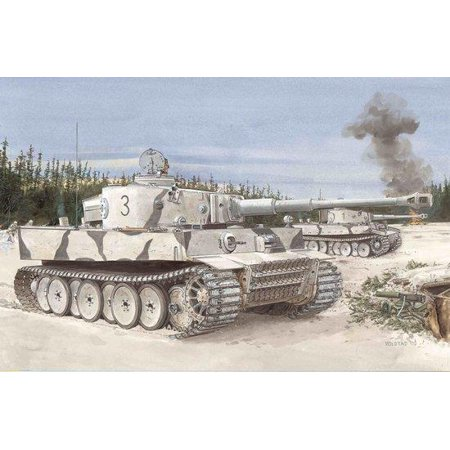 Tiger I, Initial Production s.Pz.Abt.502 Leningrad Region 1942/43 - Armor Pro Series New Initial Production Tank