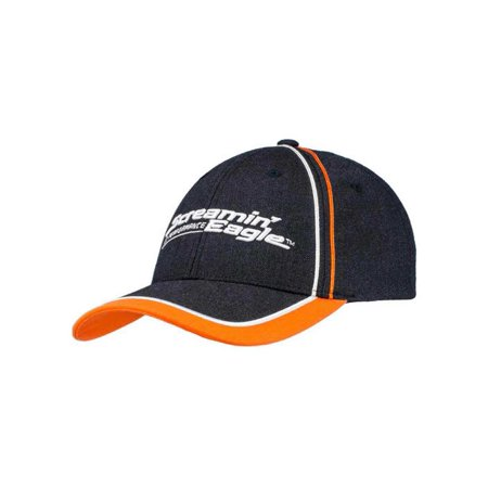 Harley-Davidson Mens Screamin' Eagle Champion Adjustable Baseball Cap HARLMH0327, Harley Davidson
