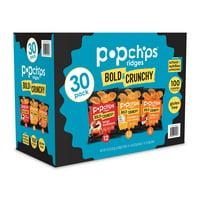 Popchips Ridges Variety Pack, 30 Ct