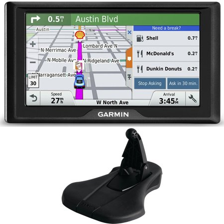 Garmin Drive 50Lm Gps Navigator Lifetime Maps  Us  010 01532 0C Dashboard Mount Bundle Includes Gps And Friction Dashboard Mount