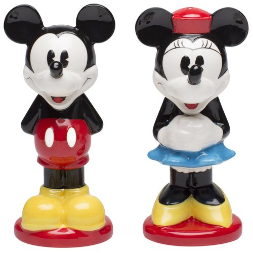 Click here to buy Zak Designs Disney Mickey and Minnie Mouse Ceramic Salt and Pepper Shakers by Zak!.