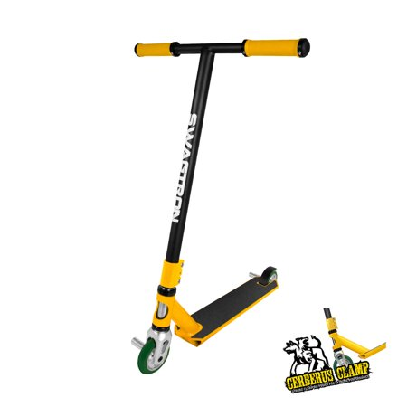 SWAGTRON Stunt/Freestyle Scooter for Beginners/Amatures BMX & Advanced Riders - Kids or Adults - Custom Scooter Supports up to 260