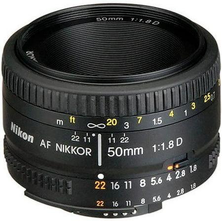 Nikon AF Nikkor 50mm f/1.8D Standard Lens