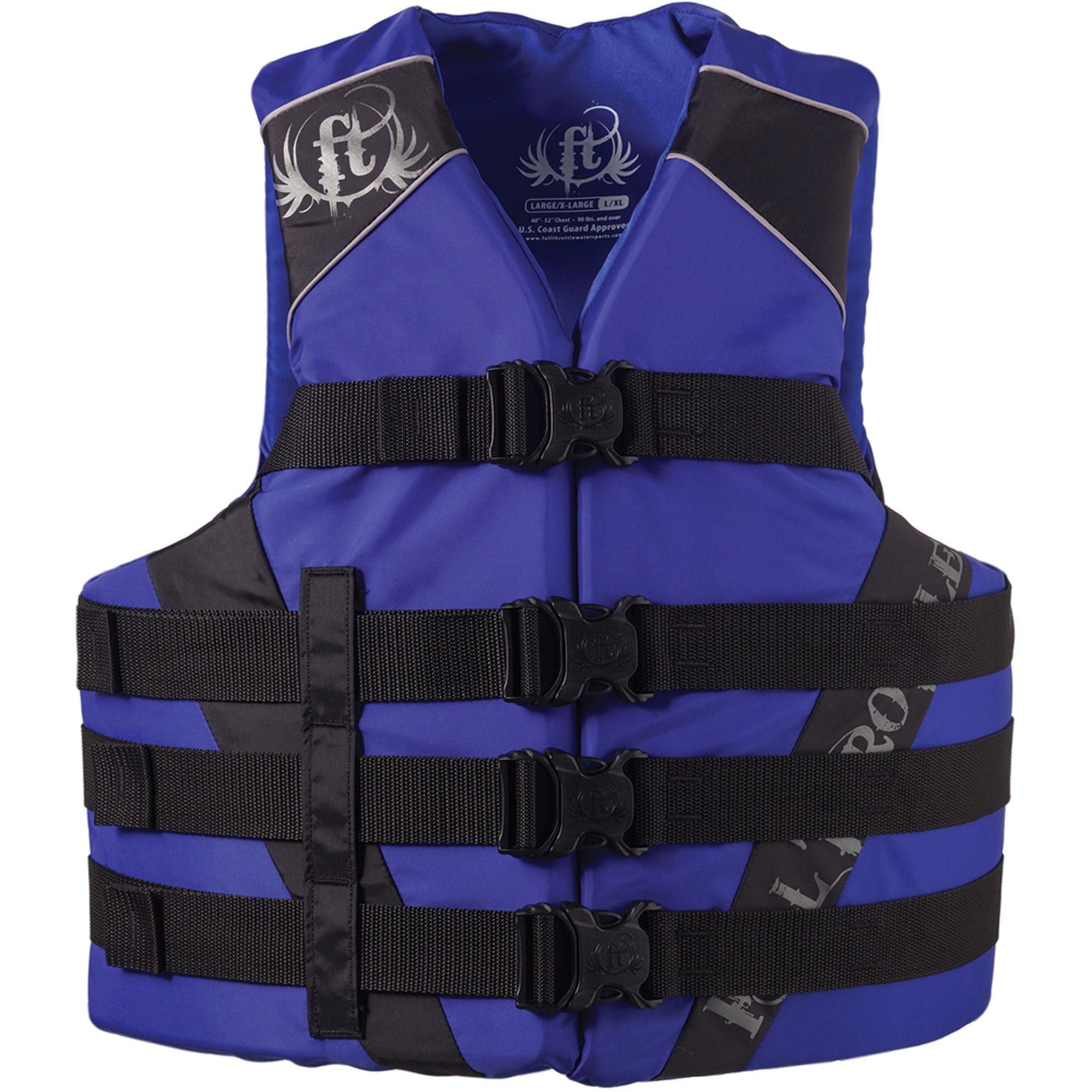 Full Throttle Adult Nylon Watersports Vest by Full Throttle
