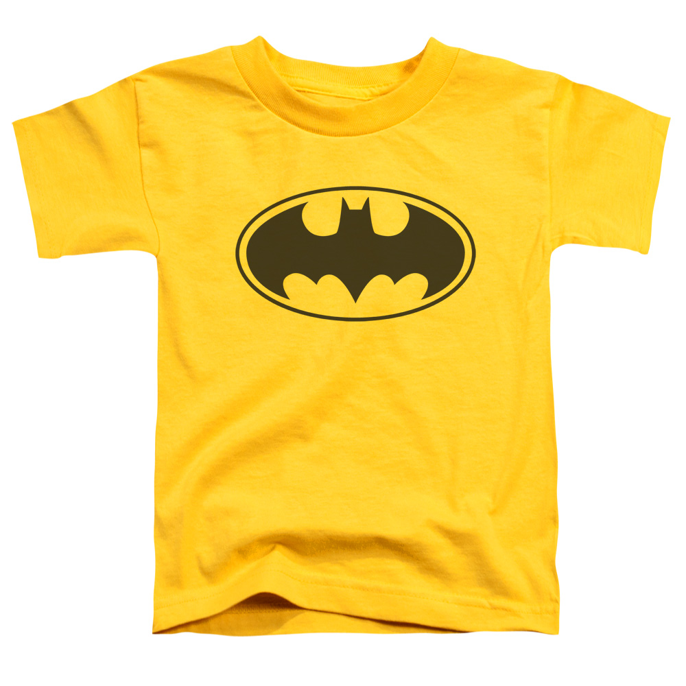 Batman Black Bat Little Boys Shirt by Trevco