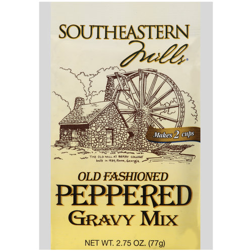 SM Old Fashioned Peppered Gravy Mix, 2.75 oz