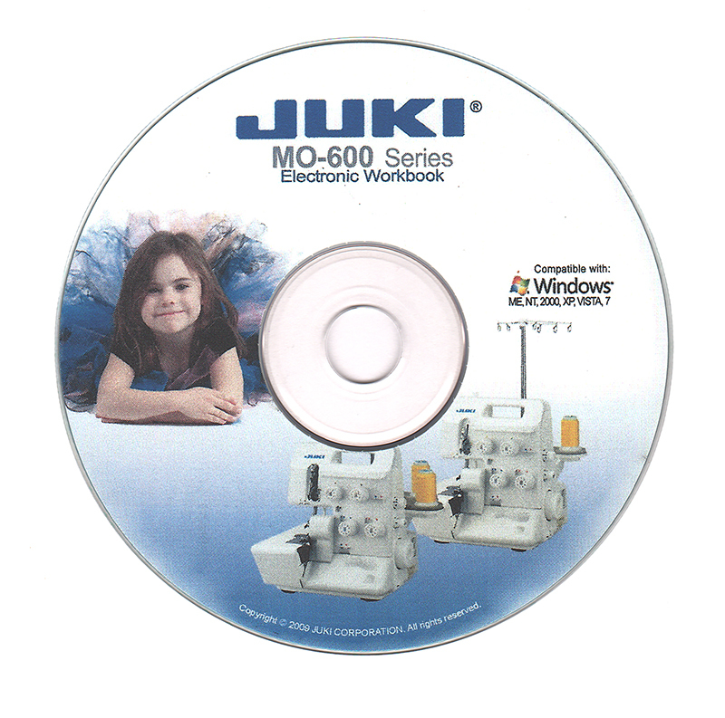 Juki MO-600 Series Instructional Interactive Electronic W...