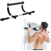 HERCHR Pull Up Bar, Heavy Duty Doorway Chin Pull Up Bar Exercise Fitness Gym Home Door Mounted